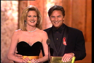 MELANIE GRIFFITHS and don johnson - oscars