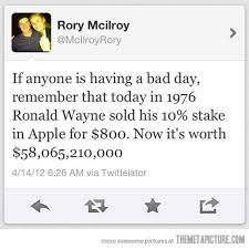 RONALD WAYNE APPLE