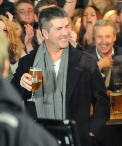 Simon with a becks beer