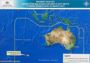 Malaysian airlines  MH370 diagram