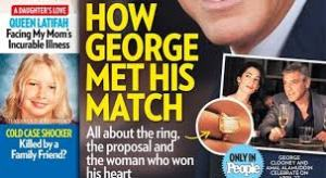 george and amal and the ring