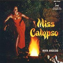 maya angelou- miss calypso LP pic