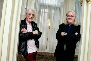 Shay Healy and Billy Connolly Pillar of Society