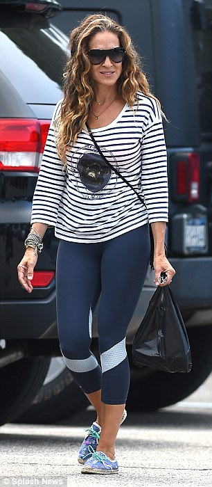 sarah jessica parker - in trackies